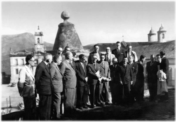 Diretores Escola de Minas de Ouro Preto